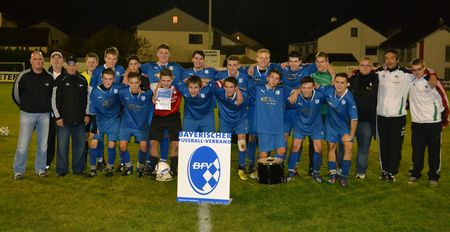 A Jugend JFG  Baywa Pokal Sieger 2013