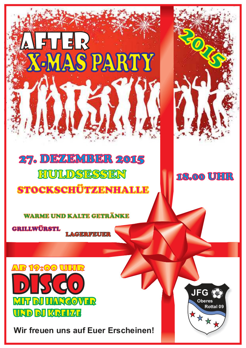 AfterXmasParty2015